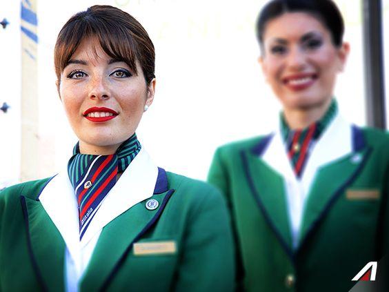 Alitalia Crew - Credits © Alari #DiscoverAlitalia Alitalia - air jamaica flight attendant sample resume