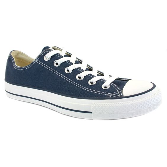 Converse All Star Chuck Taylor Ox Navy Unisex Trainers Shoes | Trainer shoes,  Trainers and Converse