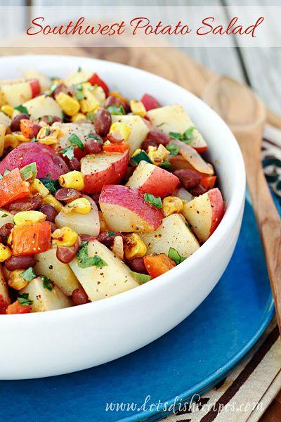 Red Potato Salad With Scallions & Radishes Recipe — Dishmaps