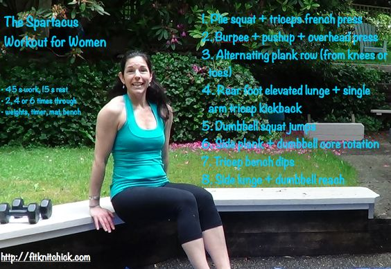 The Spartacus Workout for Women