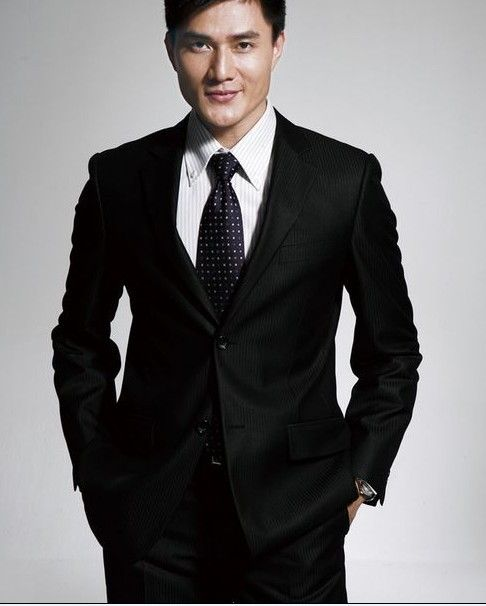 Wearing a black suit black tie is a great classic look for Black shirt and tie combinations