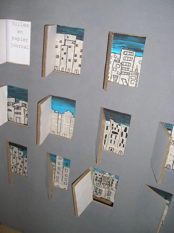 papier journal arts visuels pinterest journaux intimes. Black Bedroom Furniture Sets. Home Design Ideas