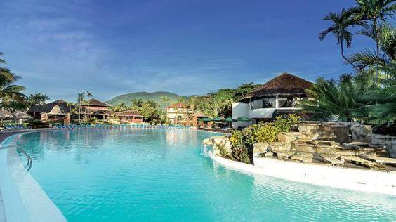 Günstiger Traumurlaub in der Dominikanischen Republik: im 5-Sterne-Hotel, All Inclusive, direkt am kilometerlangen Sandstrand der Costa Dorada.