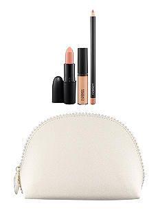 MAC Keepsake/Nude Lip bag