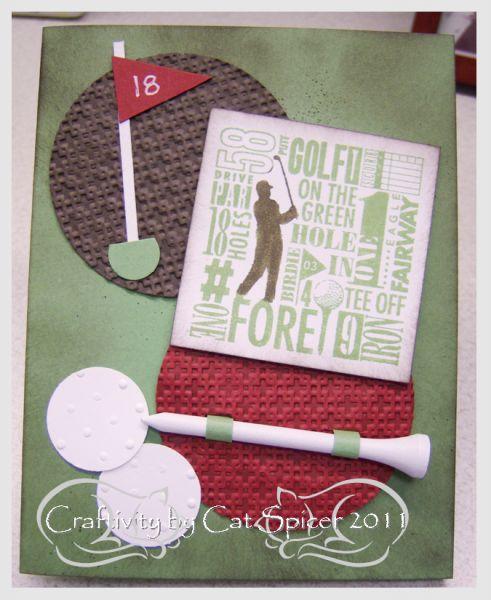 Distressed Golfer
