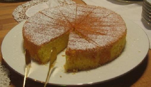 Recetas de Cocina faciles.: Bizcochuelo esponjoso de naranja