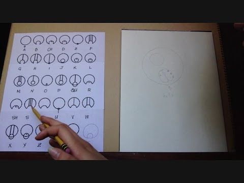 How to Write in Circular Gallifreyan (full tutorial) - YouTube