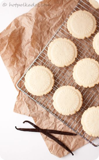 Heirloom Vanilla Sugar Cookies