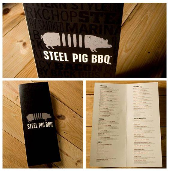 Steel Pig BBQ Restaurant Branding
