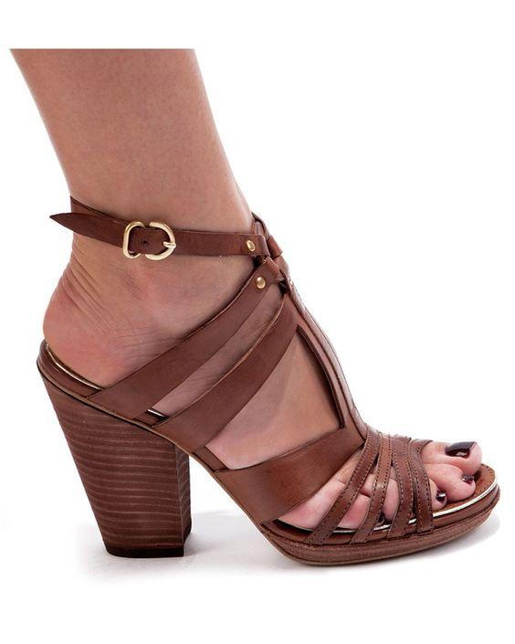 Pris Tan Sandals-Miista