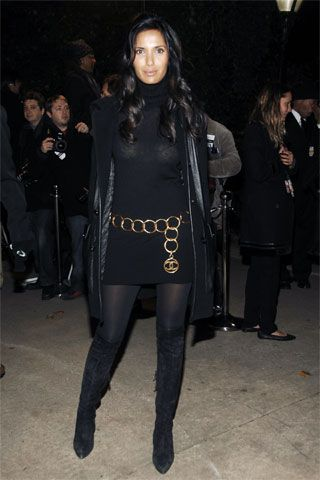 Padma Lakshmi at Chanel Celebrates Mobile Art