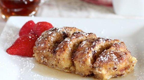 Overnight Cinnamon Roll French Toast