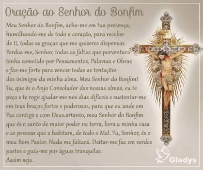 Resultado de imagem para oração do senhor do bonfim da bahia