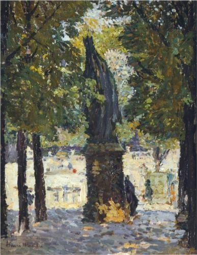 Garden of Luxembourg - Henri Martin