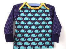 Langarmshirt Wale 62/68 #schlupfshirt #retrodepot #queenmärry #babyshirt