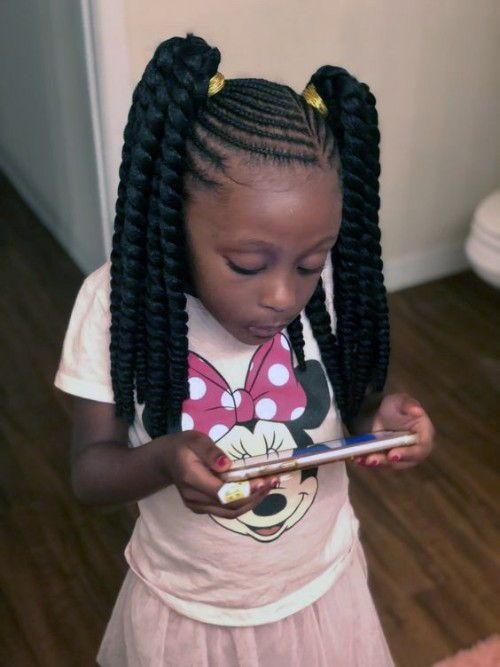 Black Kids Hairstyles With Braids