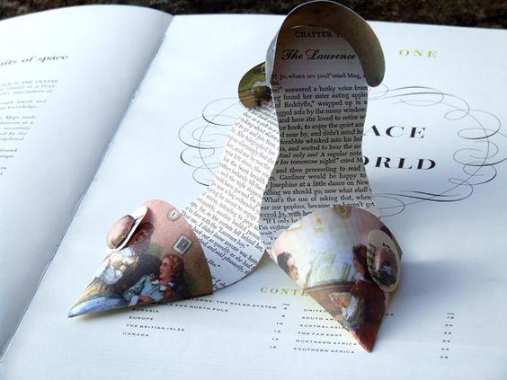 Little women stilletos Beautiful paper shoes by ww.jennifercollier.co.uk