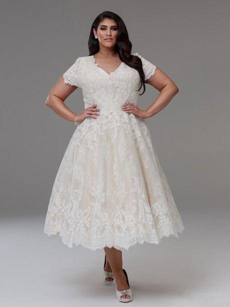 Short Wedding Dress Dianna Wedding Gown Short Wedding Dress Short Lace Wedding Dress Plus Size Wedding Dress Short