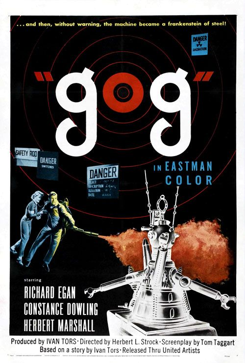 20 Great Sci-Fi Movie Posters from the 1950s   grayflannelsuit.net