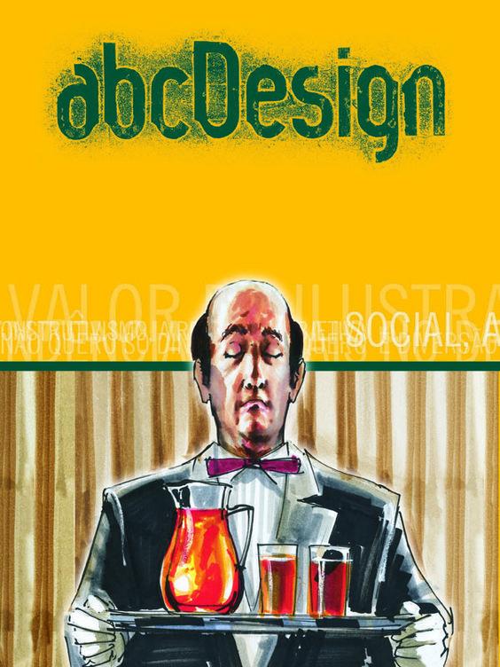 Capa da edição 7 da Revista abcDesign