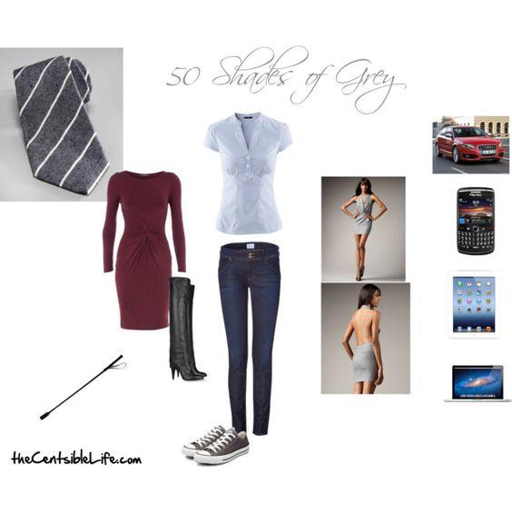 50 Shades of Grey #fashion