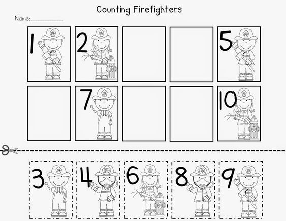 Fire Safety Freebies KinderLand Collaborative – Firefighter Worksheets for Kindergarten