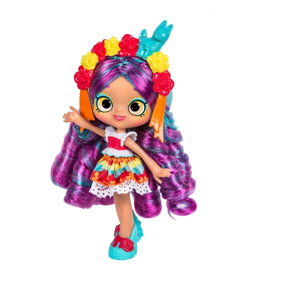 Shopkins Season 8 World Vacation (Americas) Shoppies Doll - Rosa Piñata