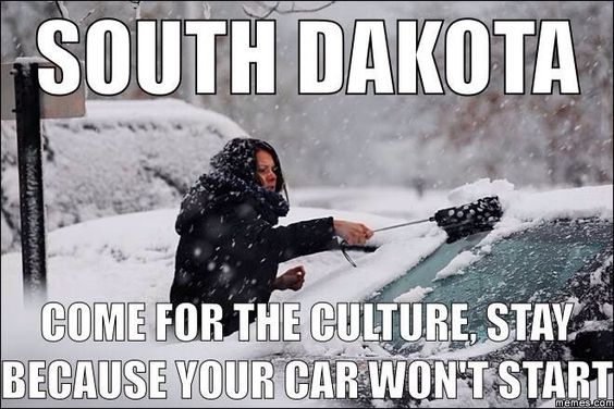 After spending a winter in Minnesota, I can relate to this!