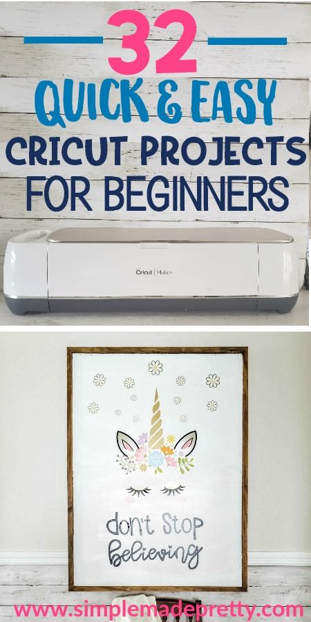 Easy Cricut Projects for Beginners | Cricut
