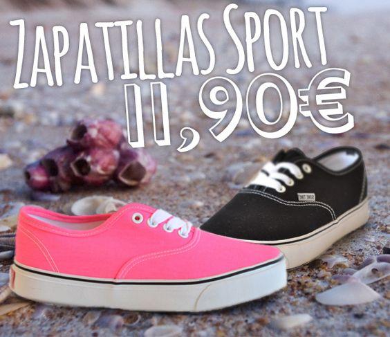 Zapatillas Sport 11,90€ - www.calzadospayma.com