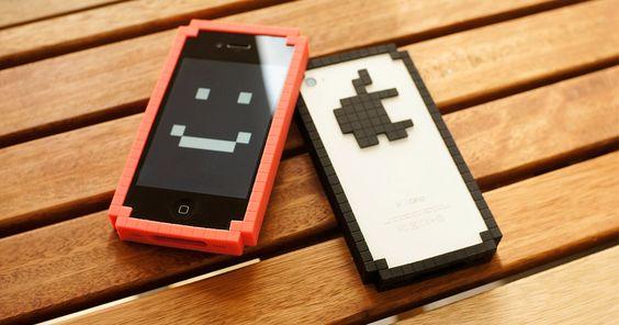 8-bit bumper iPhone case