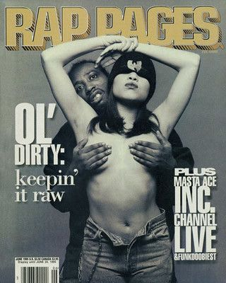 #8. Ol Dirty Bastard (Rap Pages, 1995) - The 50 Greatest Hip-Hop Magazine Covers | Complex:
