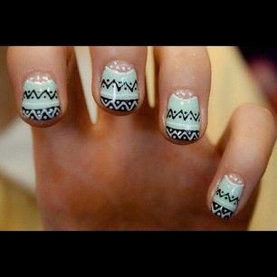 indie pattern; reminds me of a warm christmas sweater and Spanish Sahara by Foals