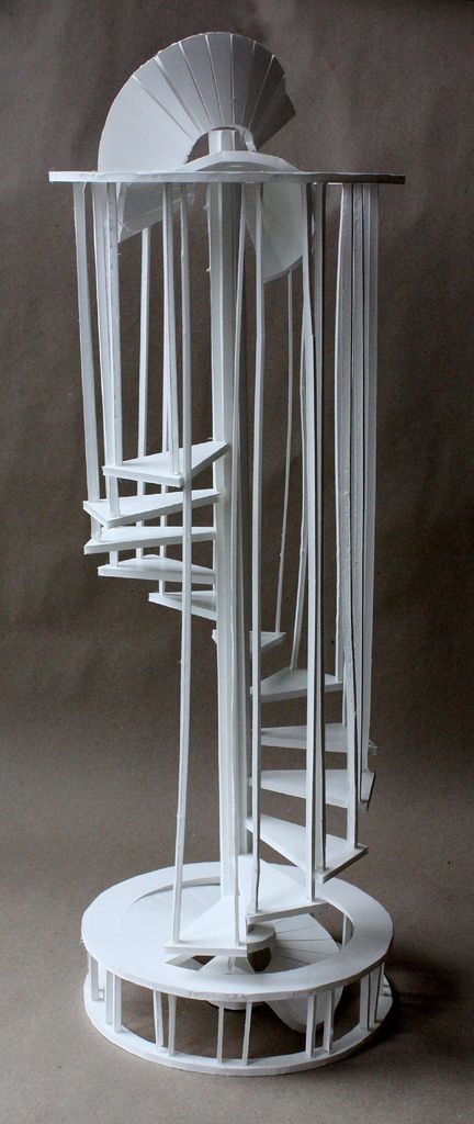 Foam Board Staircase Sculpture From My Design Foundations Course At RISD  Pre College. #risdprecollege2016 @risd_precollege @risdce | Sculpture |  Pinterest ...