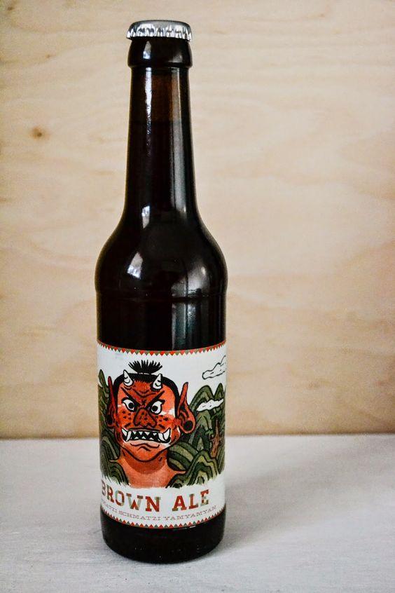 Leberkassemmel und mehr: Craft Bier Brown Ale von Tilmans