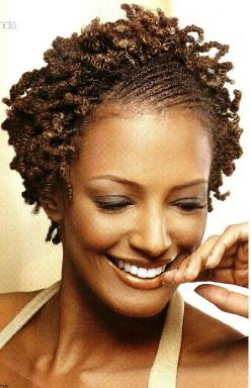Cool Short Natural Hairstyles Black Women And Natural On Pinterest Hairstyles For Women Draintrainus