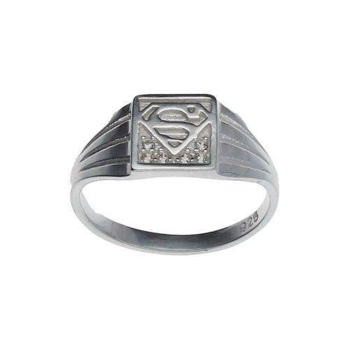 Anillo Midi O Infantil Superman Joyas De Plata Venta De Joyas Joyas