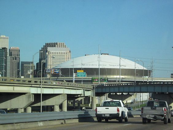 Mercedes benz super dome new orleans la been there for Mercedes benz dome