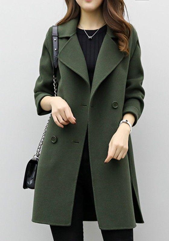 Billige Military Winter Herbst Kaufen Mantel Frauen Armee wON0vnm8