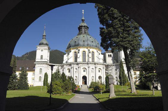 Ettal Monastery, Ettal, Germany