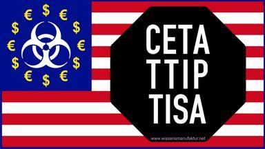 CETA TTIP TISA: