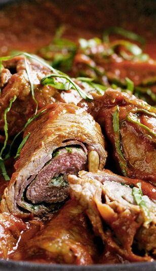 Italian Beef Steak Rolls (Beef Braciole) Recipe — Roll up these ...