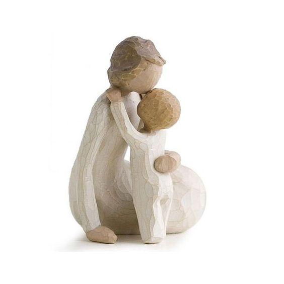 willow tree figurines | FIGURINE WILLOW TREE ENFANT ET MAMAN