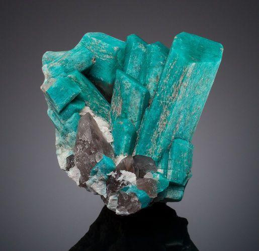 Minerals:Cabinet Specimens, AMAZONITE. Big Indian Project, Divide, Teller Co., Colorado,USA. ...