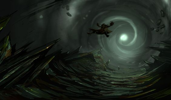 """The Fate of Zaroff"" Art by Mathias Fischer"
