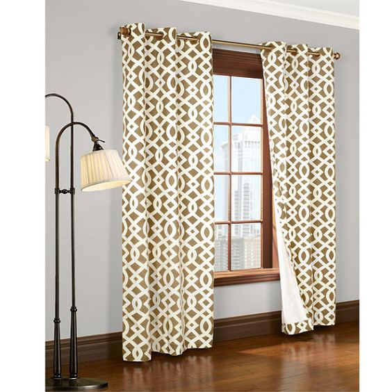 SALE window curtains 84 or 95 long curtains by LaTeDaWindows ...