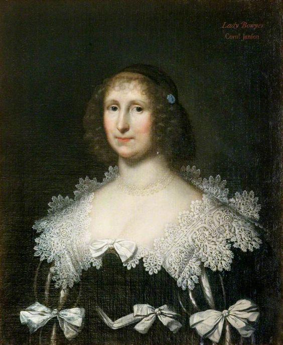 Lady Hester Bowyer (d.1665) by Cornelis Janssens van Ceulen Government Art Collection      Date painted: 1630–1640: