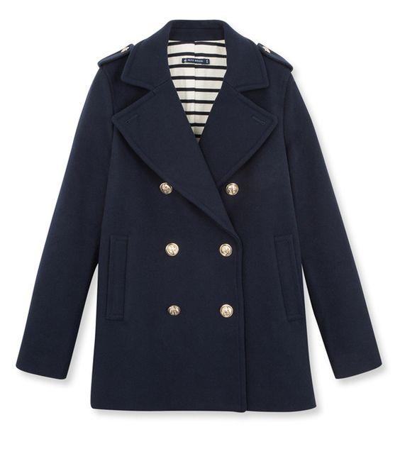 les 10 manteaux tendance de l 39 automne hiver 2015 des petit haut petit bateau et pull marin femme. Black Bedroom Furniture Sets. Home Design Ideas