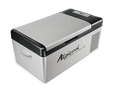 Alpicool C15 Portable Compressor Fridge Freezer 16quart 15liter For Car And Home 12v 24v Dc And 110v Ac With Images Portable Refrigerator Portable Compressor Portable Fridge