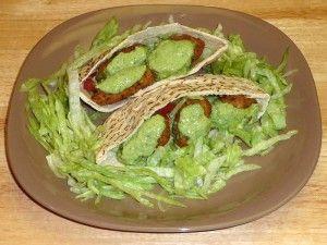 Falafel Sandwich   recipe from Manjula's Kitchen